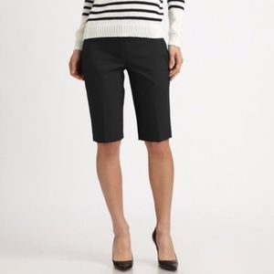 Theory ladies Bermuda shorts black 10